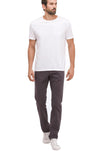 AG Jeans The Graduate Tailored Leg Pants in Asteroid Grey 1174SUD ADY
