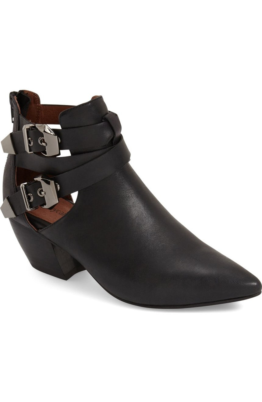 Jeffrey Campbell Phillips Bootie in Black Silver