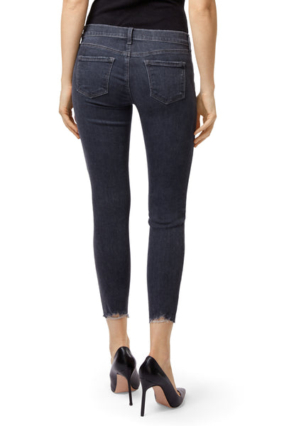 J Brand 9326 Low Rise Cropped Skinny in Ashed Destruct JB000649
