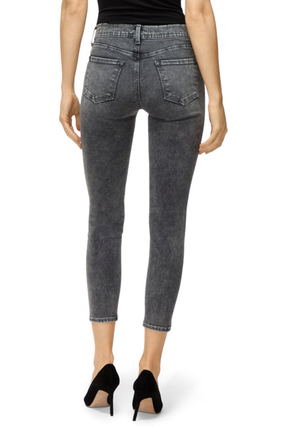 J Brand 835 mid rise crop skinny Hook Up Wash JB002057