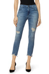 J Brand Alana high rise crop skinny Fix Up Distruct Wash JB002462