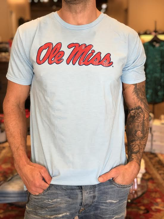 Retro Brand Ole Miss Tee RB130 COLE049A