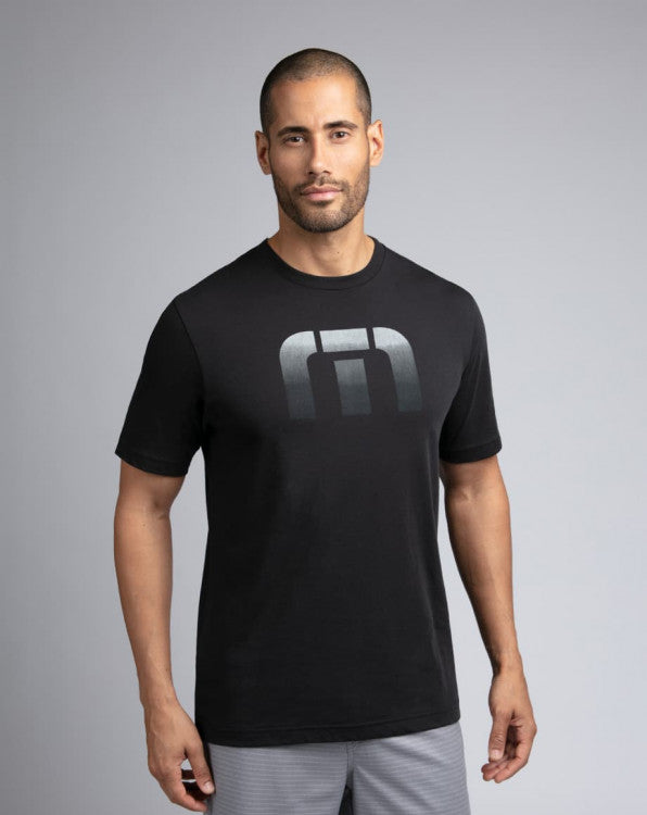 Travis Mathew Correal Black Tee Shirt 1MR209