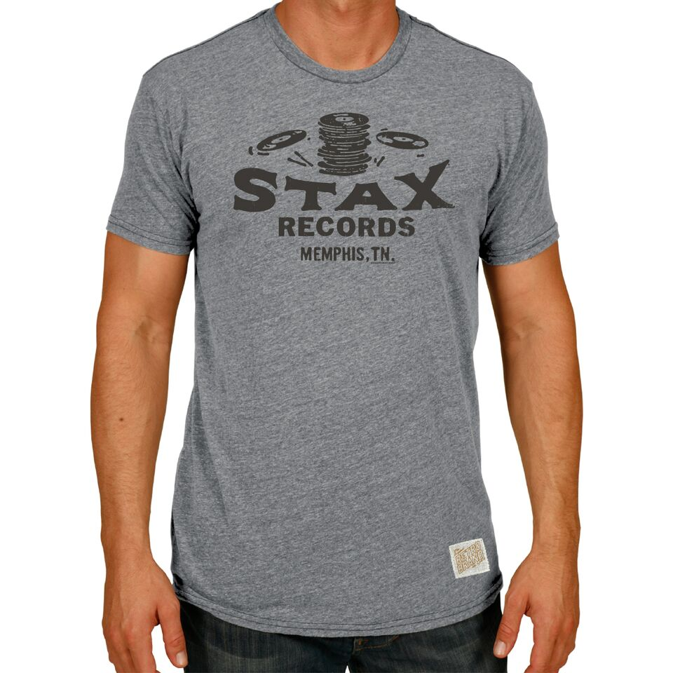 Retro Brand Stax Records Vintage Tee RB120 ACT005A