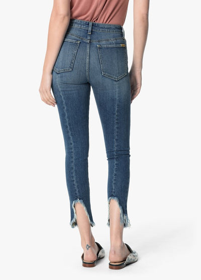 "Joe's Jeans Women's The 27"" Charlie Ankle Frayed Hem Jeans in Taraji GX5TRJ5748"