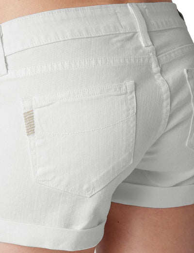 Paige Jimmy Jimmy Boyfriend Short in Optic White 1226274-OWT