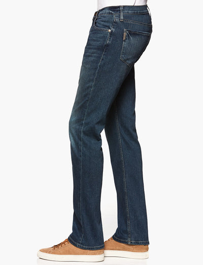 Paige Normandie Straight Leg Jeans in Briggs Wash M657521-4979