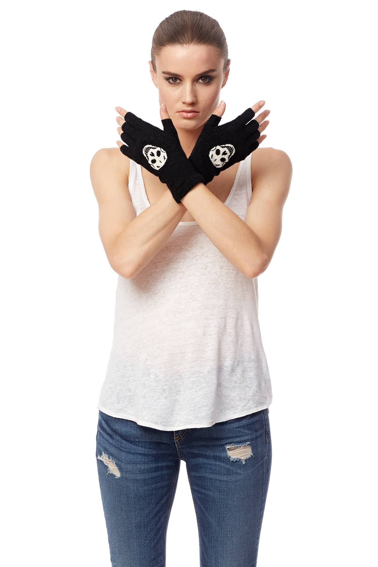 360 Sweater Company Skull Gloves 42965