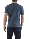 Agave Byron Bay Short Sleeve Crew Neck T-Shirt K-1351, Majolica Blue