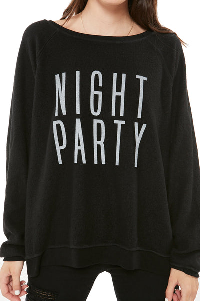 Project Social T Night Party/Day Party Sweatshirt 4839-4PET-JX