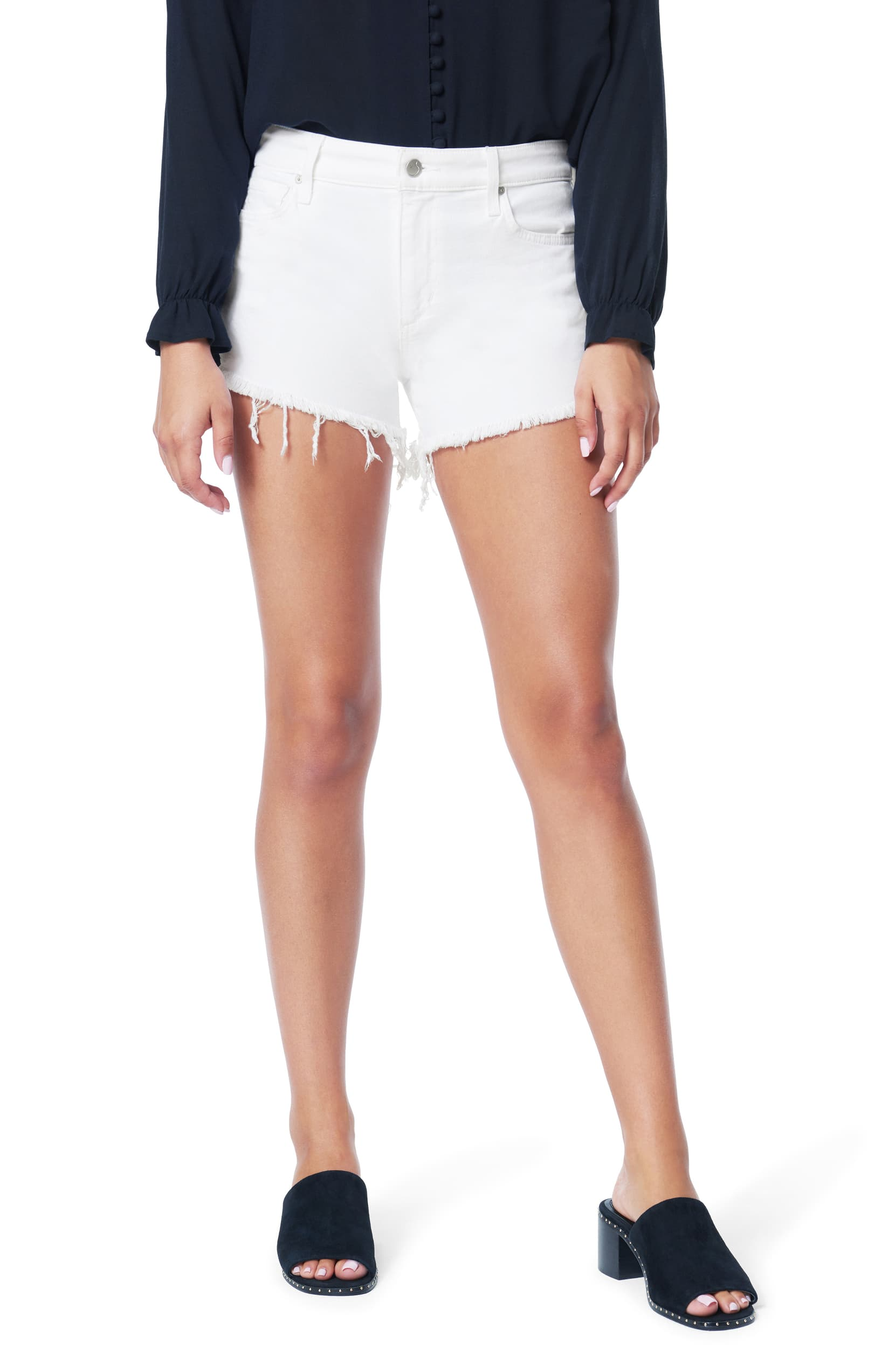 Joes jeans The Ozzie 4in Cut Off Short TP7WHT4860