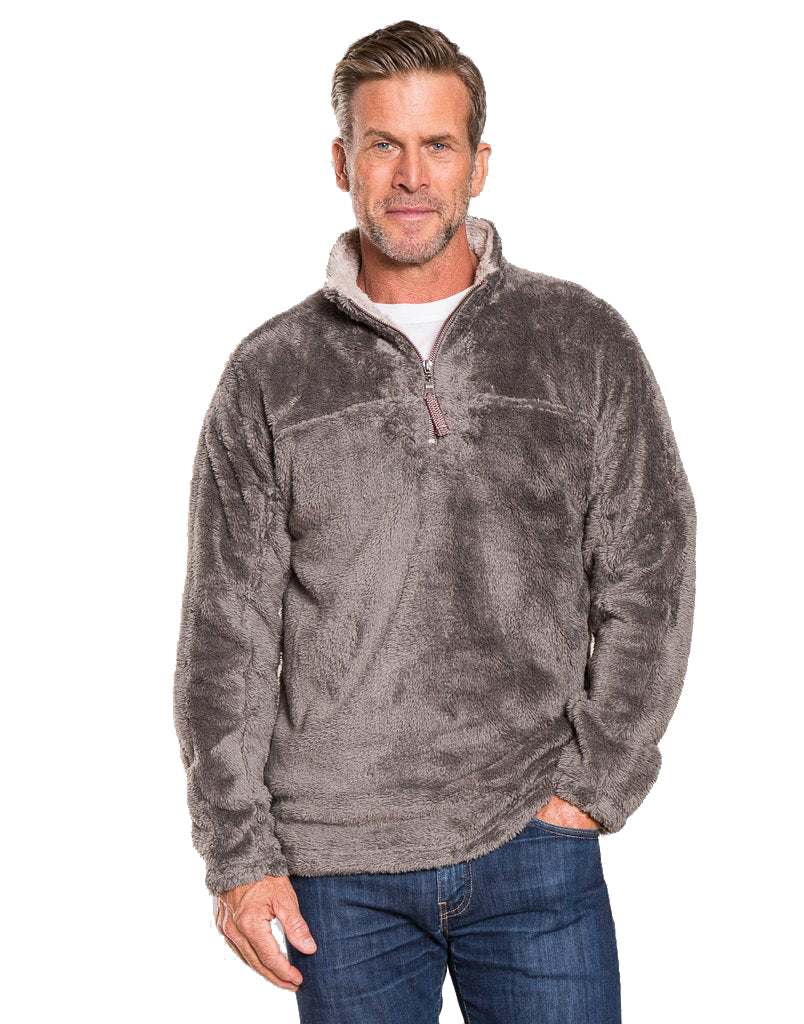 True Grit Double Plush 1/4 Zip Pullover 71M231DFP
