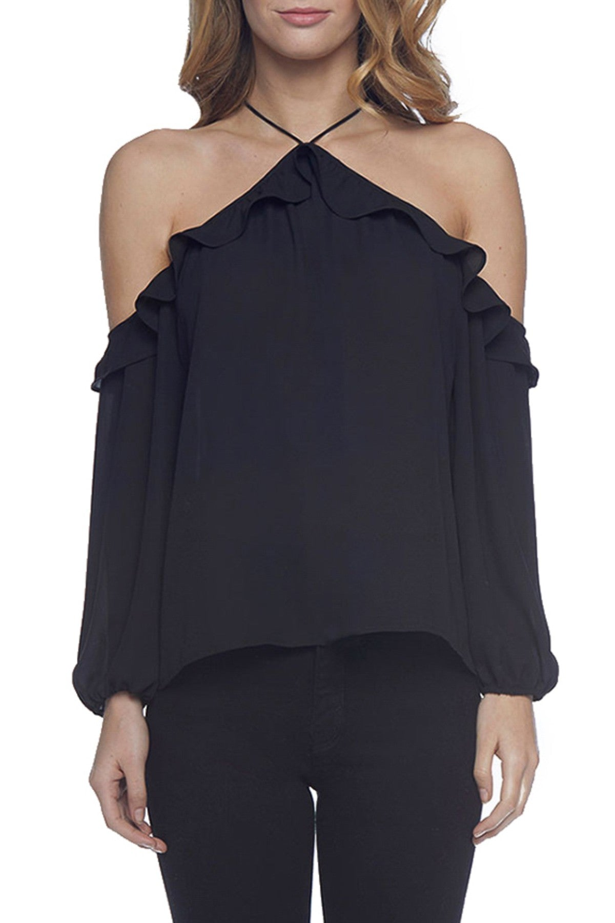 BB Dakota Carly Top in Black BH304844