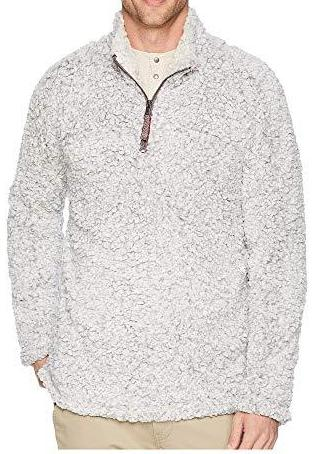 True Grit Frosty Tipped 1/4 Zip Pullover 81M65FTP