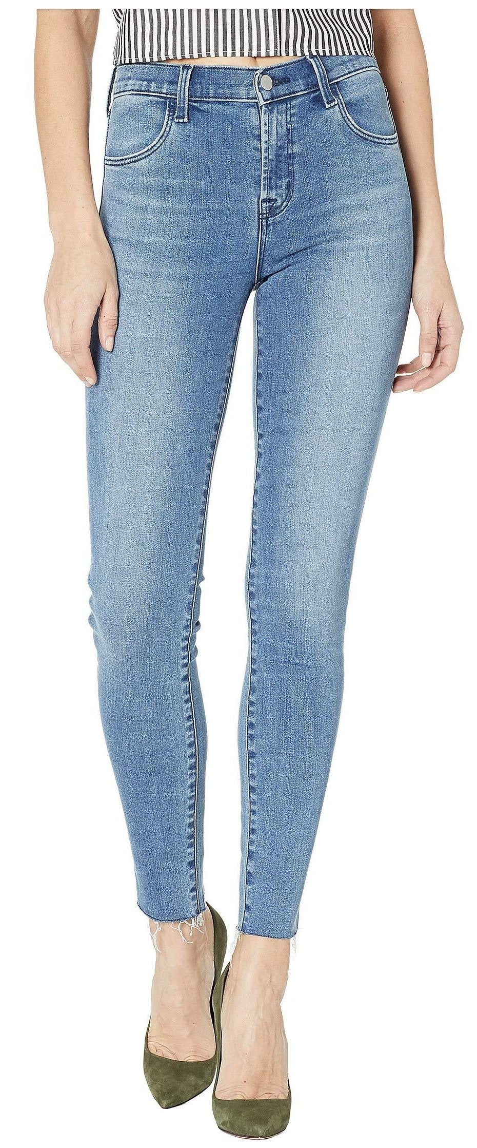 J Brand Maria High Rise Skinny in Vega Wash JB001978