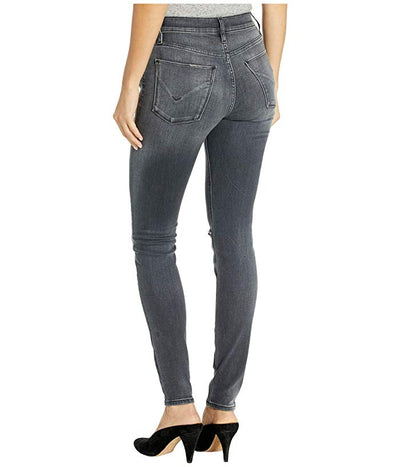Hudson Jeans Barbara High Waist Super Skinny Out Of Sight Wash WH407DRC