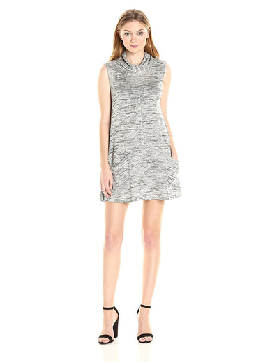 BB Dakota Brinton Turtle-Neck Sleeveless Dress BH18906