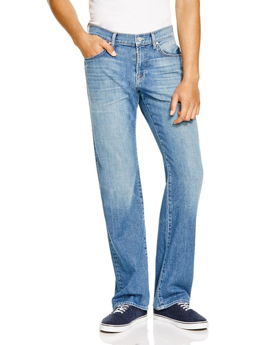 7 For All Mankind Austyn Relaxed Straight Leg Jean in Blue Americana Wash ATA046784A BLAM