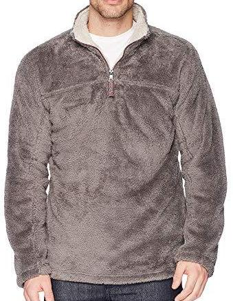 True Grit Double Plush 1/4 Zip Pullover 81M231DFP