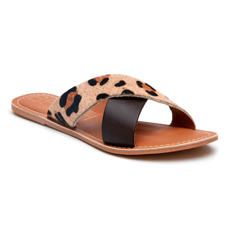 Matisse Pebble Leopard/Brown Sandle PBBCHLBR12BF