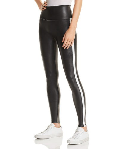 Spanx Faux Leather Stripe Legging 20187R