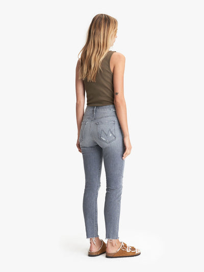 Mother Denim High Waisted Looker Nick Fray Ace Of Spades 1411-743