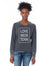 Baer's Den Love Mem Tenn Lazy Day Burnout French Terry Pullover Sweatshirt - 08626FH