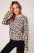 Bb Dakota Cat Nap Leopard Sweater Tan BJ305973