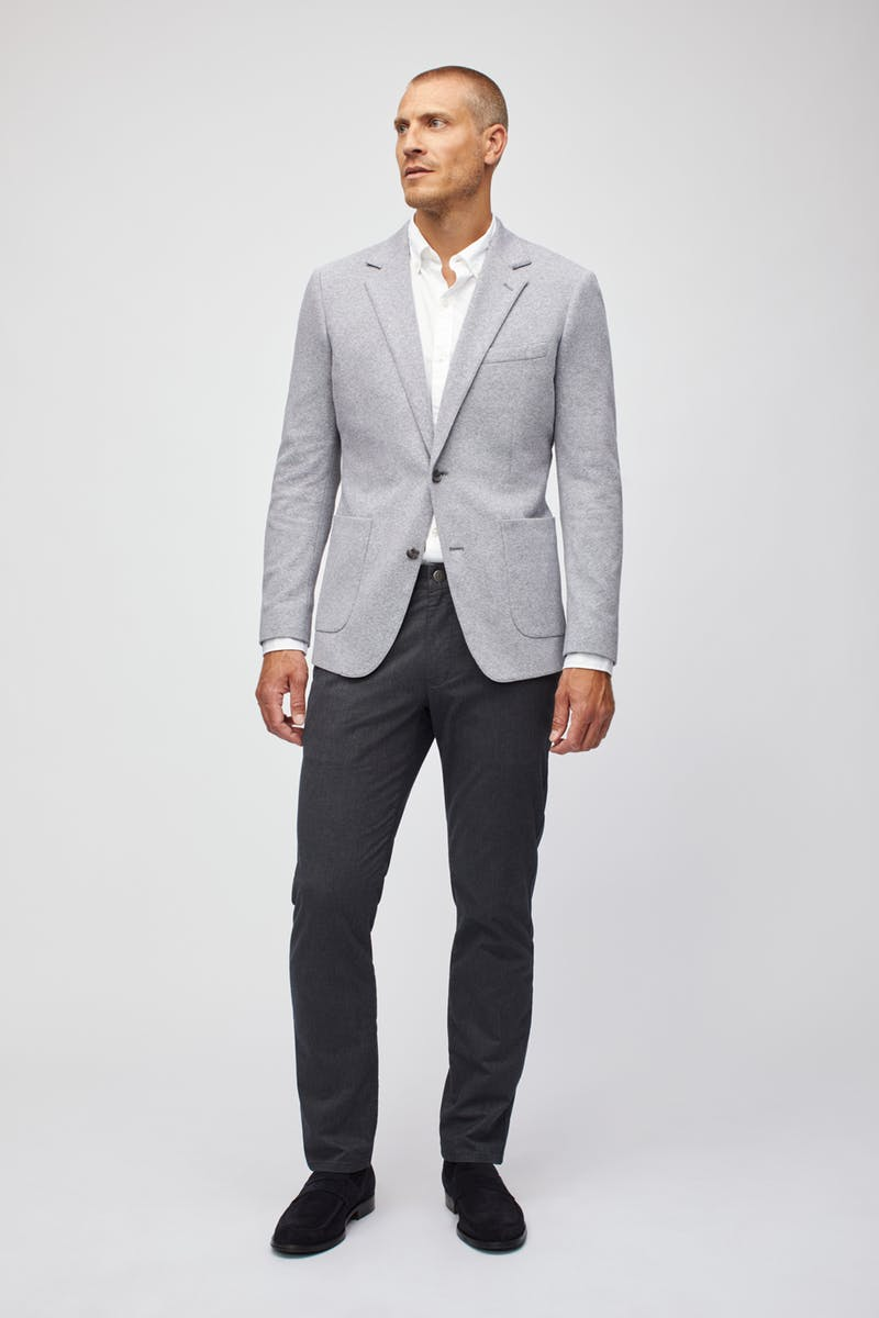 Bonobos Core Knit Blazer Grey 15680
