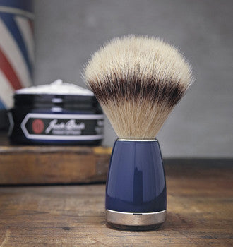Jack Black Pure Performance Shave Brush with Silver Tip Fibre Bristles