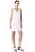 Cooper & Ella Vera Tank Dress in White CE-B1816