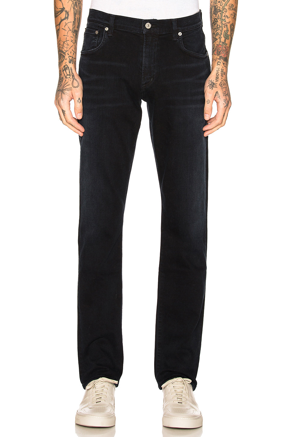 Citizens of Humanity Gage Slim Straight Leg Jeans in ink 6107B-927