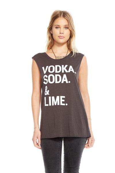 Chaser Brand Vodka Soda Lime Tank CW5875-CHA2239