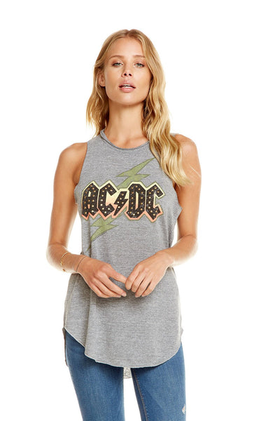 Chaser Brand ACDC - Faded Bolt Tank CW6214-ACD056