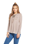 Chaser Hi Lo Pocket Long Sleeve Tee CW6245-OWL