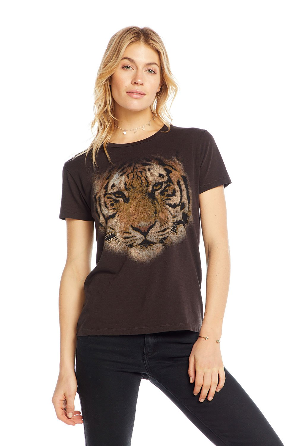 Chaser Tiger Eyes Tee CW6296-CHA4511-UBLK