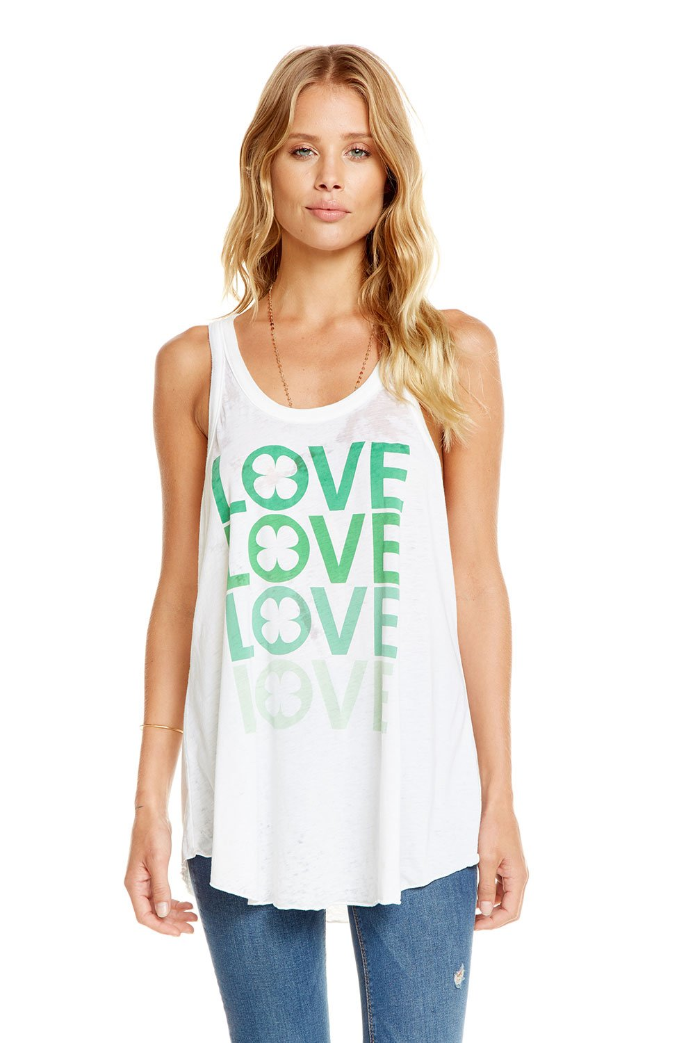 Chaser Lucky in Love Swing Tank CW6460-CHA3120