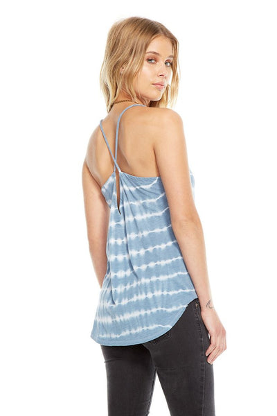 Chaser Brand Vintage Jersey Cross Back Shirttail Cami CW6781