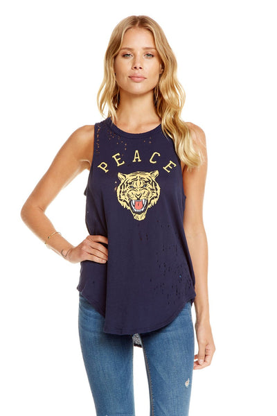Chaser Brand Peace Tiger Tank CW6842-CHA3019