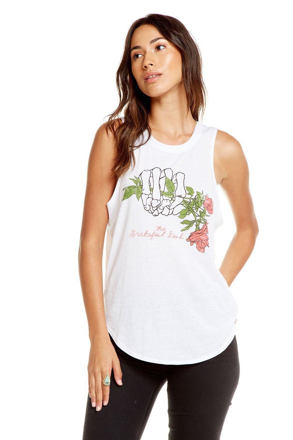 Chaser Brand Grateful Dead - Thoughtful Dead Tank CW6909-GRD264