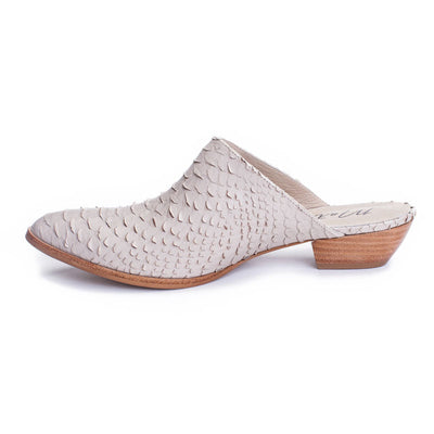 Matisse Clover Scaled Leather Mule CLVLIVX