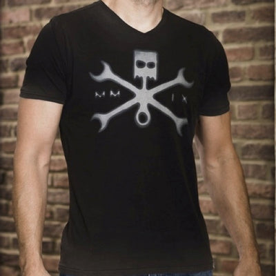 Mercury Mfg. Co. Cross Wrenches  Graphic T-Shirt DCS15-1107