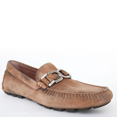 Donald Pliner Derrik Washed Suede Slip on Loafer