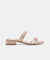 Dolce Vita Haise Rose Gold Sandals VHAIZEO