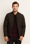 Zachary Prell Oak Jacket in Black F18O001OH