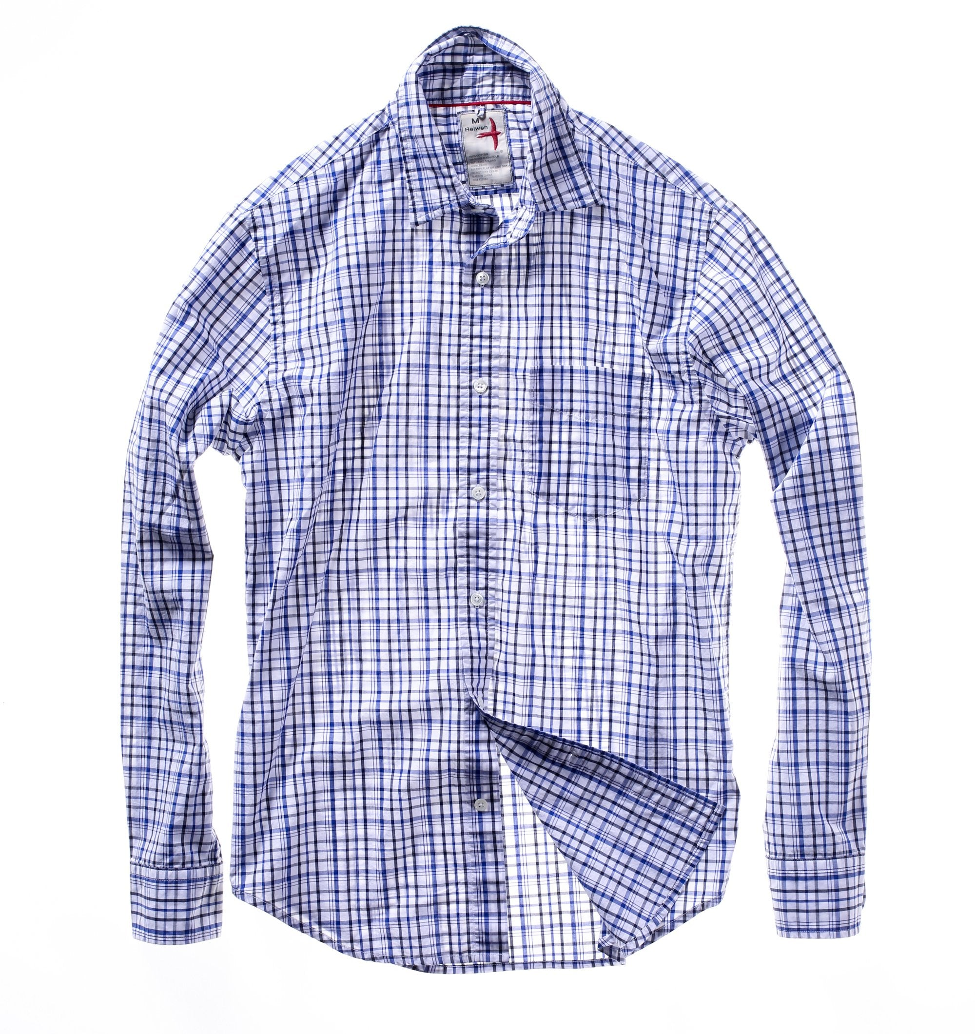 Relwen Classic Blues Shirt M300314122