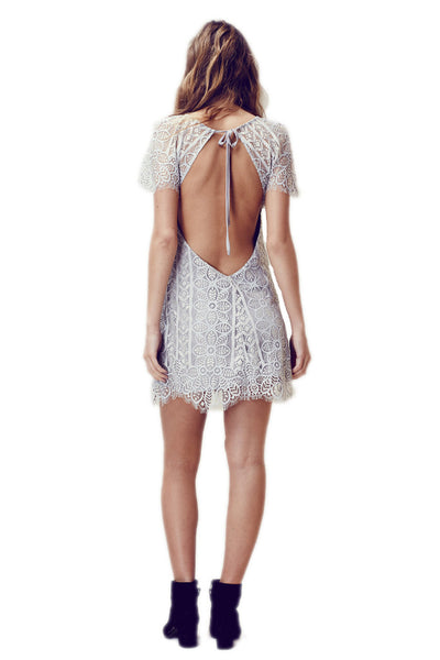 For Love & Lemons Lyla Mini Dress D1349L