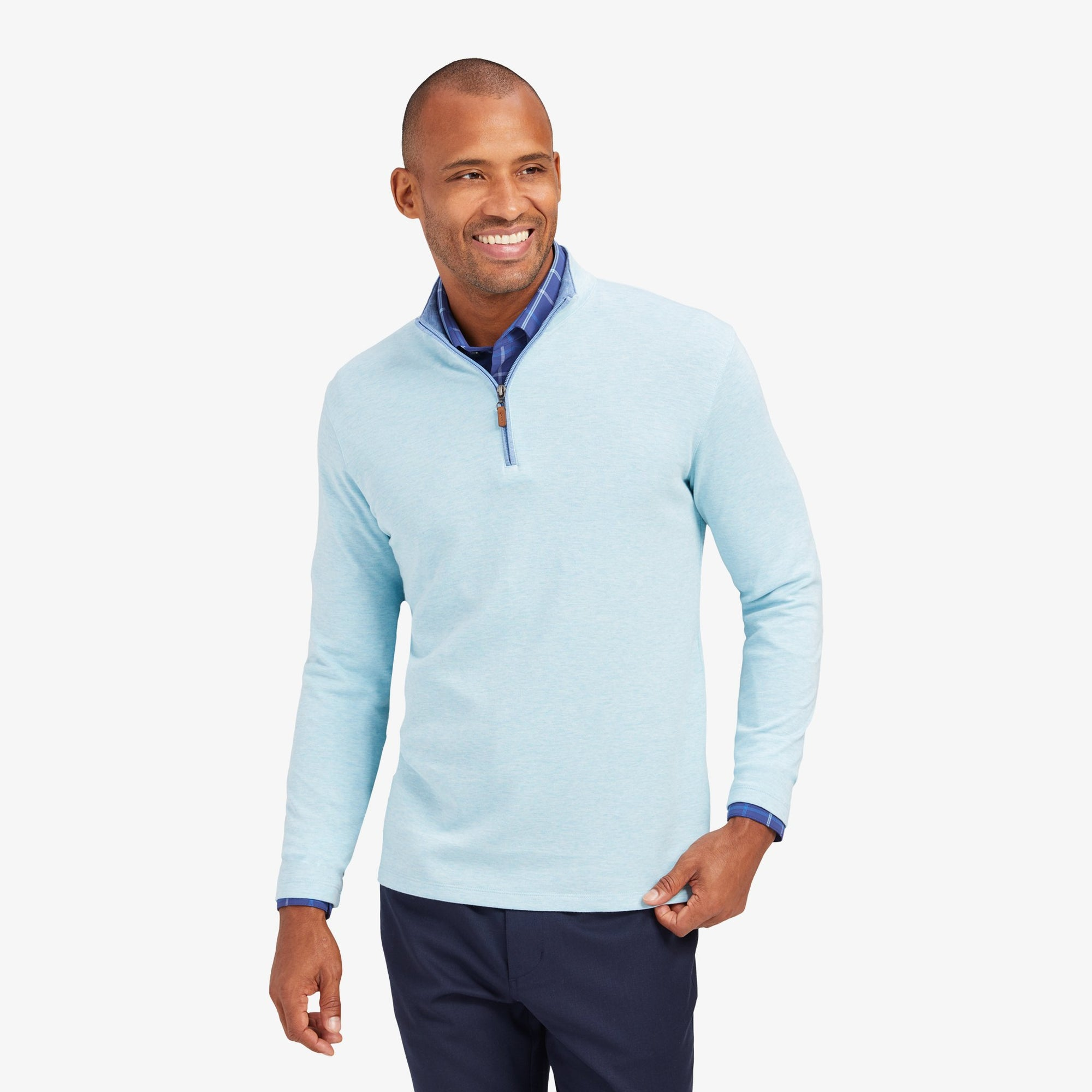 Mizzen+Main Fairway Qtr Zip Sweater FWY-F20-44007