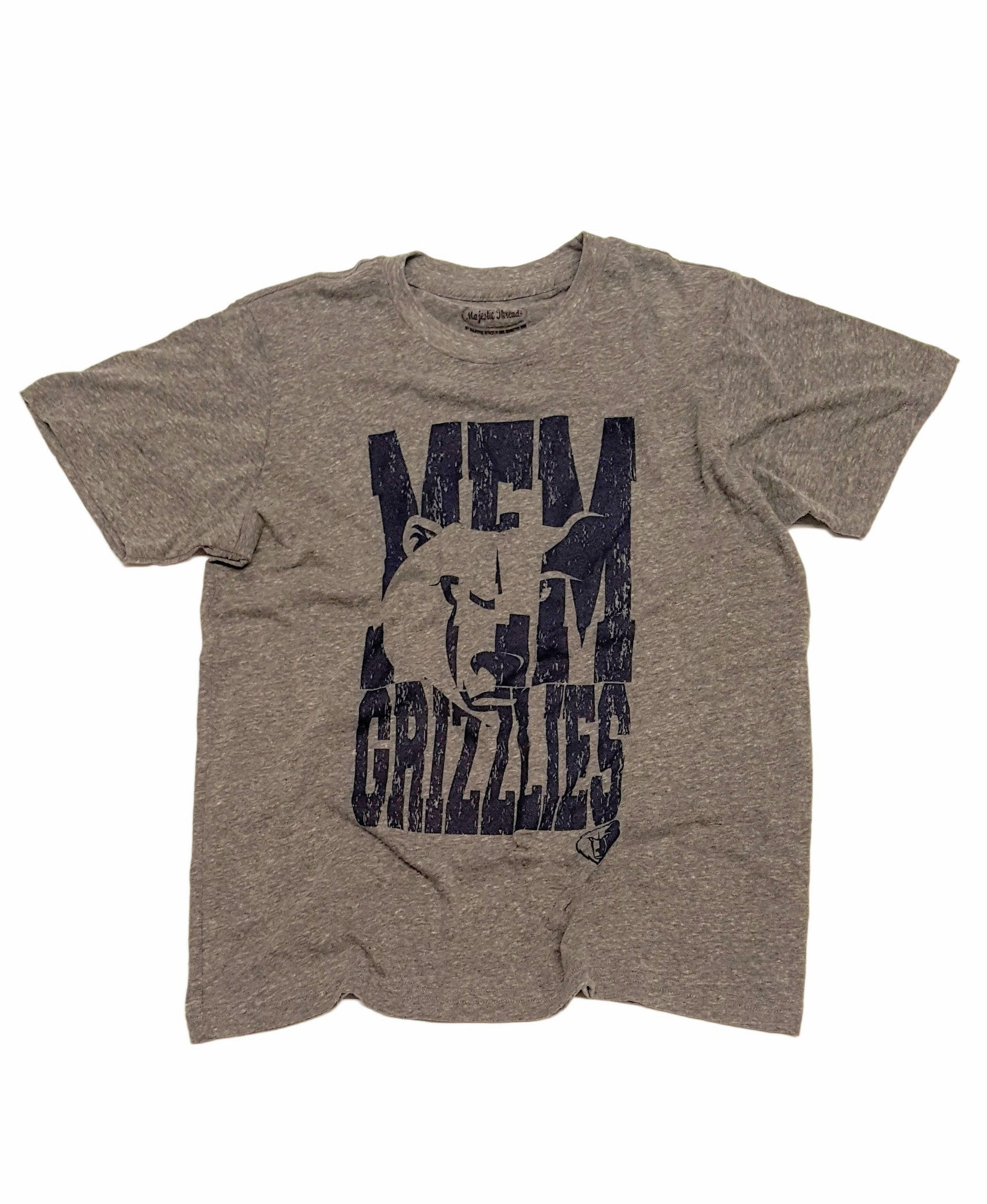 Memphis Grizzlies Men's Abbreviation Crew Neck Tee