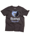 Memphis Grizzlies Head Men's Soft Crew Neck Tee
